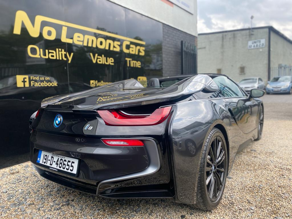 2019 BMW i8 Roadster