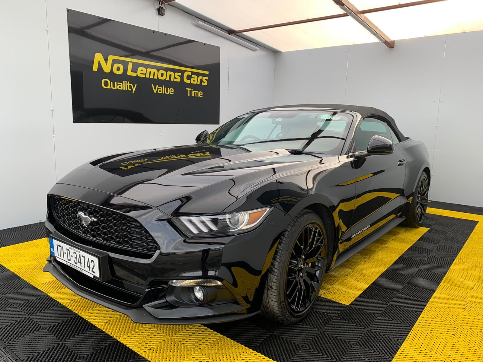 2017 Ford Mustang Premium + package