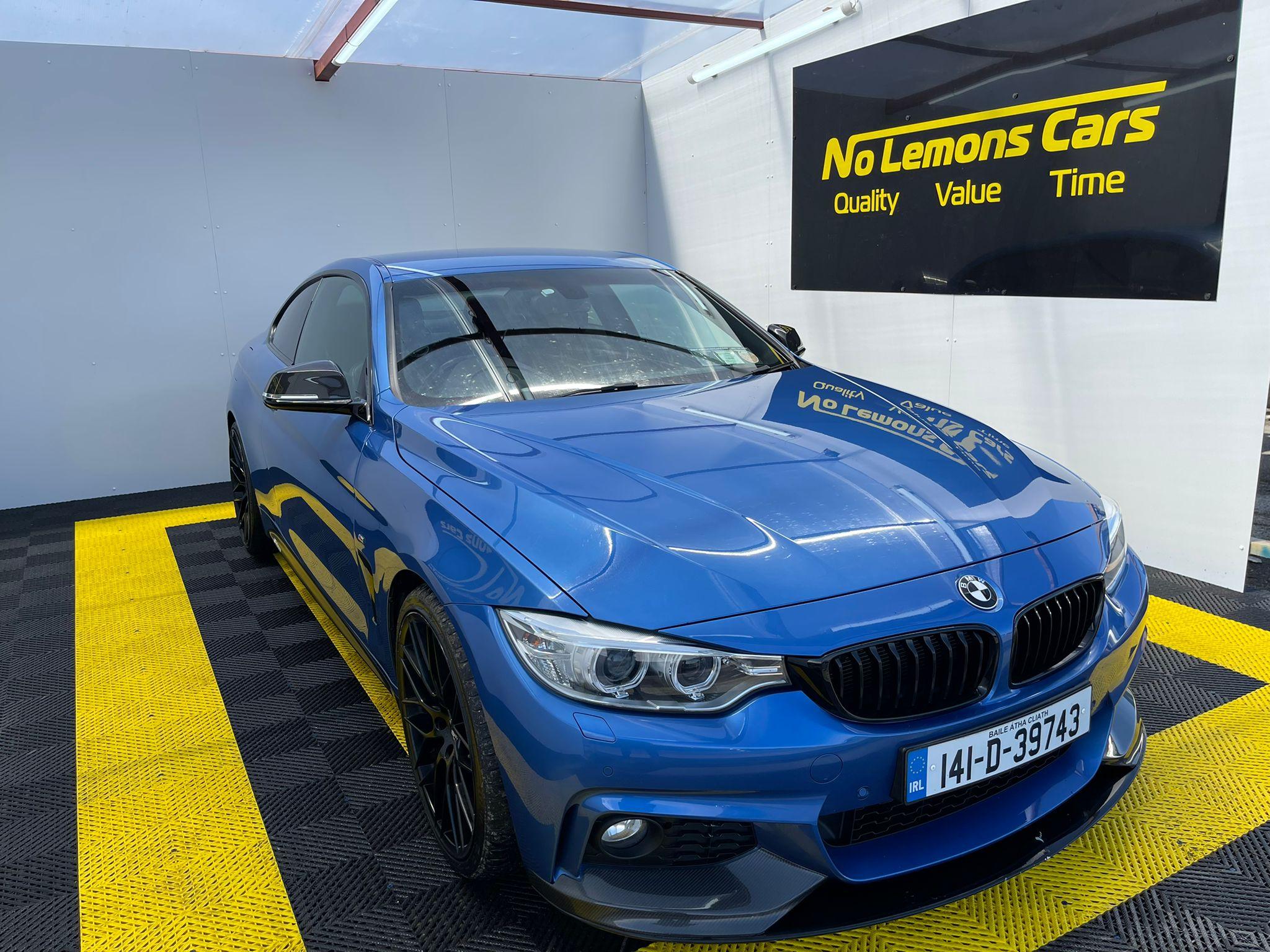BMW 4 Series M-Sport 2014 2.0