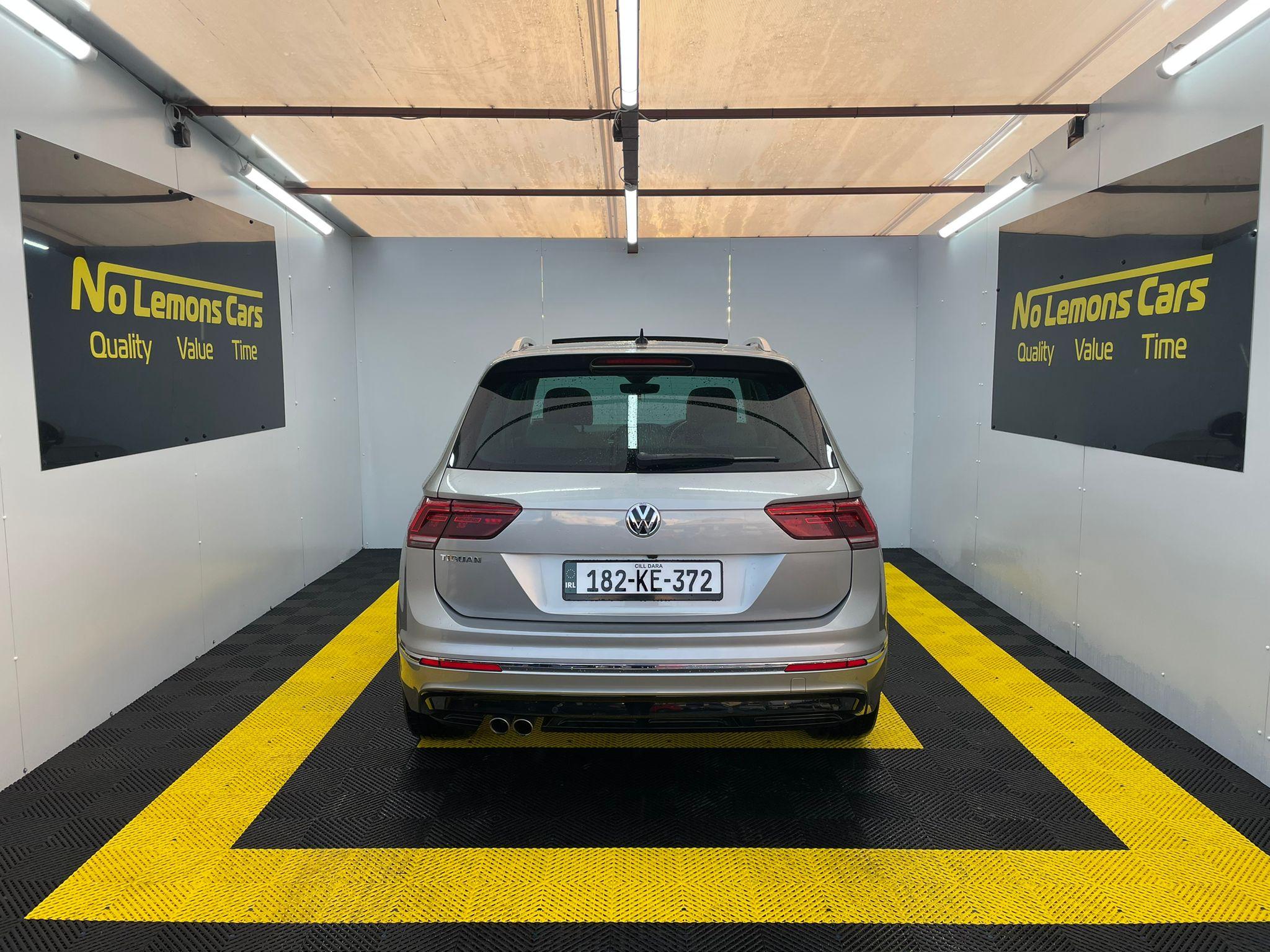 Volkswagen Tiguan R-Line 2018 2.0