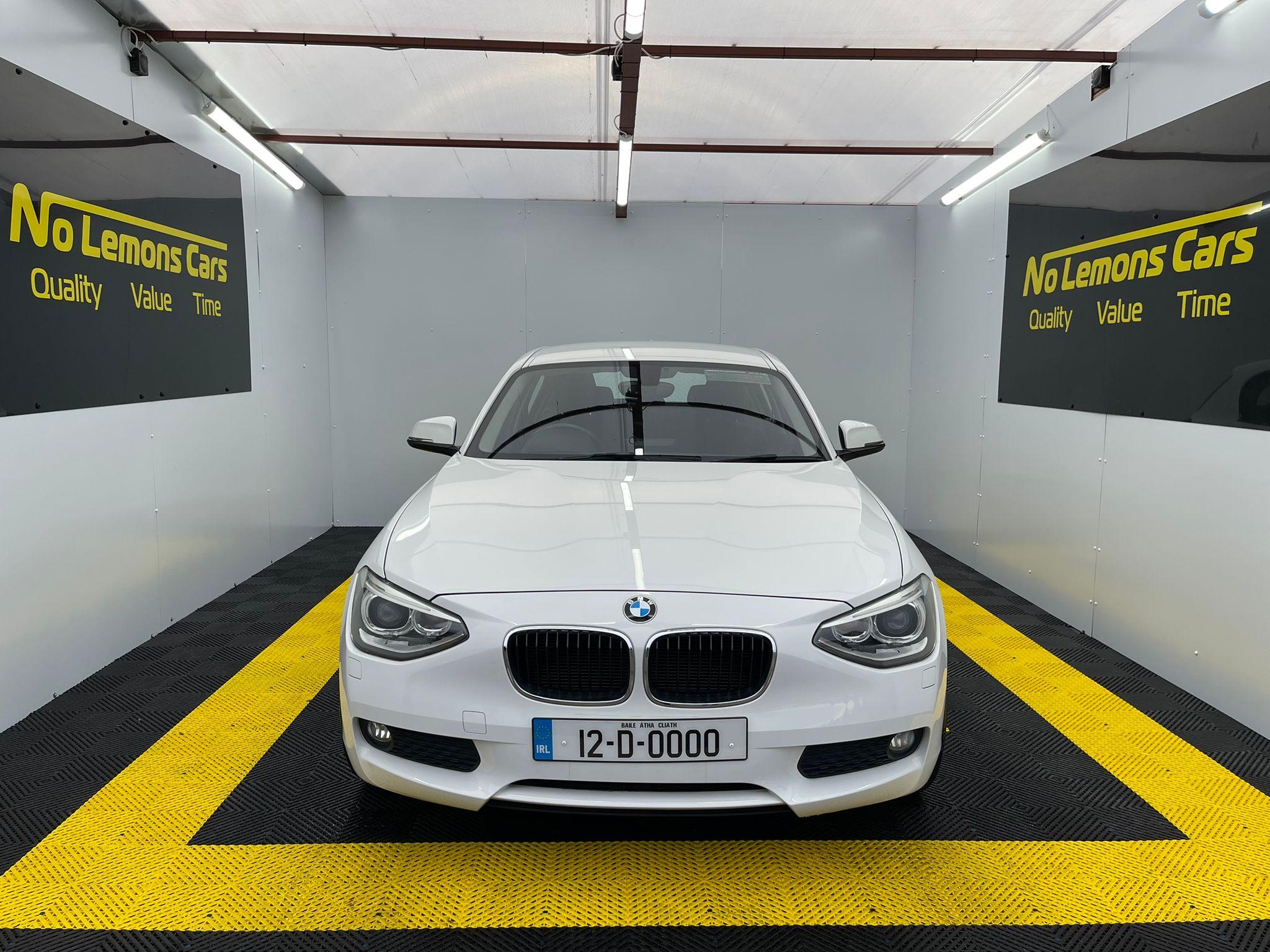 BMW 1-Series 116i 2012